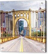 0305  Pittsburgh 10 Acrylic Print