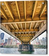 0309 Pittsburgh 4 Acrylic Print by Steve Sturgill