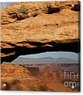 0375 Mesa Arch Acrylic Print