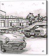040-great American Acrylic Print