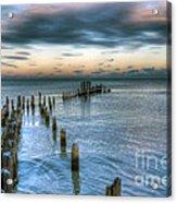 0411 Lake Michigan Acrylic Print