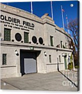 0417 Soldier Field Chicago Acrylic Print by Steve Sturgill