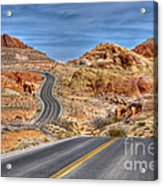 0445 Valley Of Fire Nevada Acrylic Print