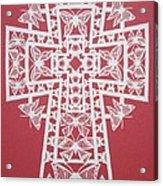 045 Butterfly-cross Acrylic Print