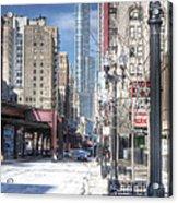 0450 Wabash Avenue Chicago Acrylic Print