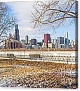 0452 Chicago Skyline Acrylic Print