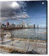 0488 Chicago Skyline Acrylic Print