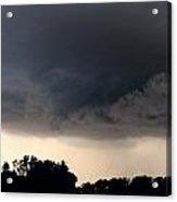 052913 - Severe Storms Over South Central Nebraska Acrylic Print