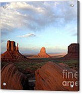 0583 Moument Valley Acrylic Print