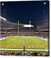 0587 Soldier Field Chicago Acrylic Print by Steve Sturgill