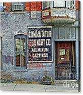 0605 Old Foundry Building Acrylic Print