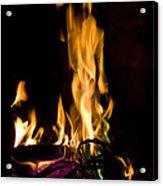 060912-15   Fire Dance Acrylic Print