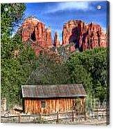 0682 Red Rock Crossing - Sedona Arizona Acrylic Print by Steve Sturgill