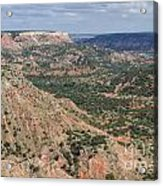 07.30.14 Palo Duro Canyon - Lighthouse Trail 5e Acrylic Print