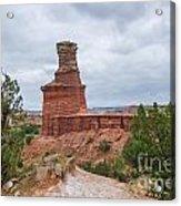 07.30.14 Palo Duro Canyon - Lighthouse Trail 62e Acrylic Print