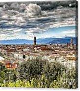 0753 Florence Italy Acrylic Print