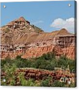 08.03.14 Palo Duro Canyon Rojo Grande Trail 10e Acrylic Print