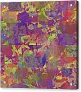 0866 Abstract Thought Acrylic Print