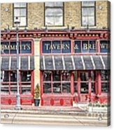 0875 Emmett's Tavern And Brewing Company Acrylic Print