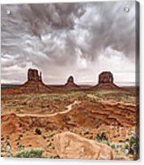 0883 Monument Valley Acrylic Print
