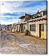 0926 Sky City - New Mexico Acrylic Print