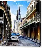 0928 St. Louis Cathedral - New Orleans Acrylic Print