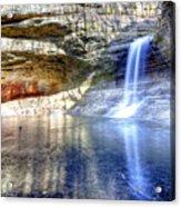 0943 Cascade Falls - Matthiessen State Park Acrylic Print