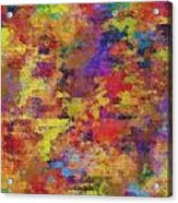 0955 Abstract Thought Acrylic Print