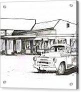 095b-truck Acrylic Print