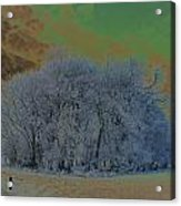 An Irish Winter Scene Acrylic Print