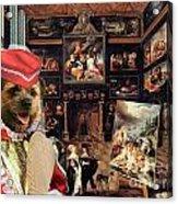 Border Terrier Art Canvas Print Acrylic Print
