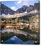 Cirque Of The Towers In Lonesome Lake 5 Acrylic Print