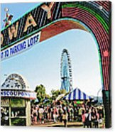 Midway Fun And Excitement  Acrylic Print