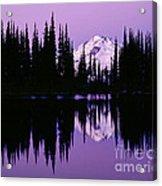 Glacier Peak  In Image Lake Acrylic Print