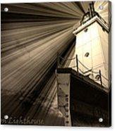 Ludington  Light House Michigan Acrylic Print