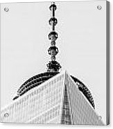 Scenery Near World Trade Center In New York C Acrylic Print