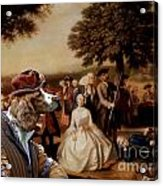 Welsh Springer Spaniel Art Canvas Print Acrylic Print