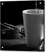 Workman's Coffee Break Acrylic Print
