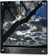 003 Grand Island Bridge Series Acrylic Print