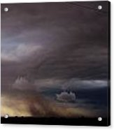 052913 - Severe Storms Over South Central Nebraska Acrylic Print