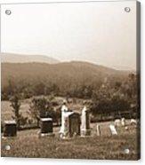 101708-1   On A Hillside In Pennsylvania Acrylic Print