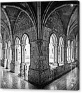 13th Century Gothic Cloister Acrylic Print