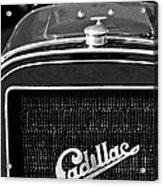 1907 Cadillac Model M Touring Grille Emblem Acrylic Print