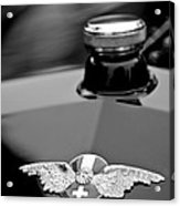 1912 Hispano-suiza 15-45 Hp Alfonso Xiii Jaquot Torpedo Hood Emblem Acrylic Print