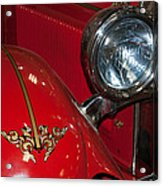 1927 Hudson Fire Engine Acrylic Print