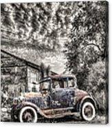 1928 Ford Model A Acrylic Print by Robert Jensen