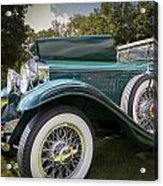 1929 Isotta Fraschini Tipo 8a Convertible Sedan Acrylic Print