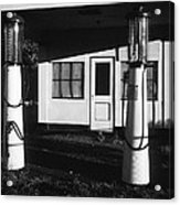 1929 Ralph's Service Station Armory Park Tucson Arizona Acrylic Print