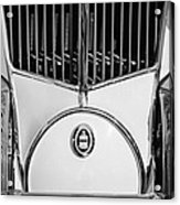 1930 Cord L-29 Speedster Grille Emblem Acrylic Print