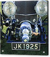1931 Bentley 4.5 Liter Supercharged Le Mans Grille Acrylic Print